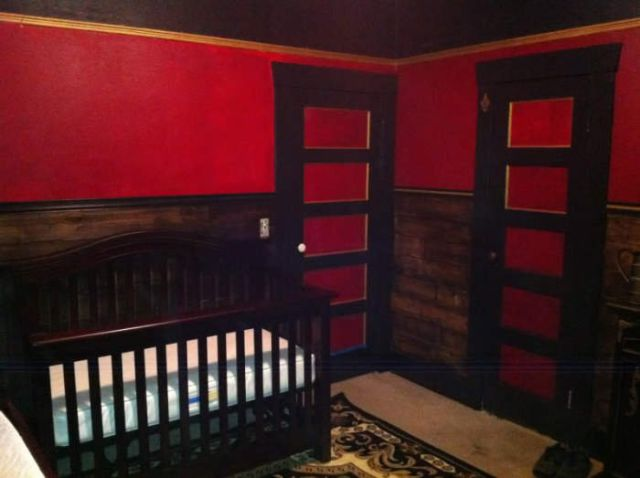 Awesome Dad Builds His Kid a Cool Playroom from Scratch