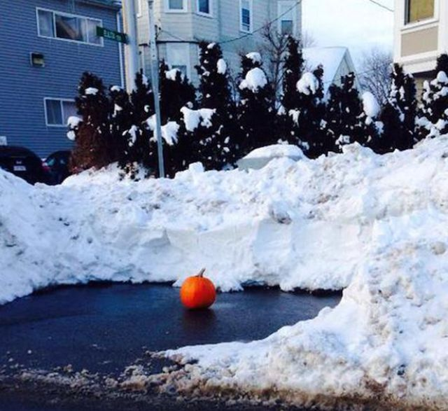 Boston Locals Do Crazy Things to Keep Their Parking Spots