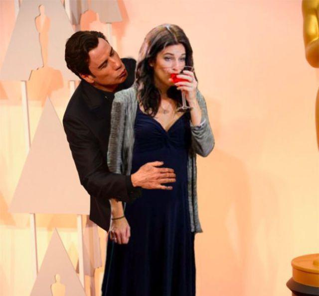 John Travolta's Awkward Encounter with Scarlett Johansson Is Making Internet Waves