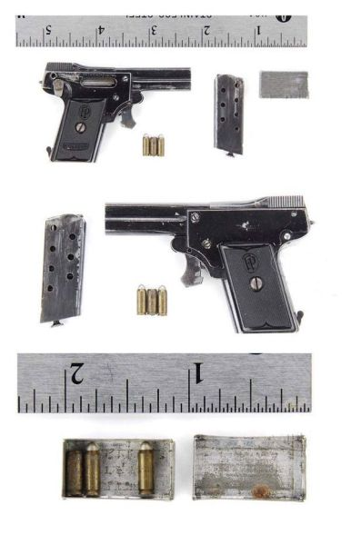 One of The Tiniest Fully Functional Semi-Automatic Pistol Ever Made