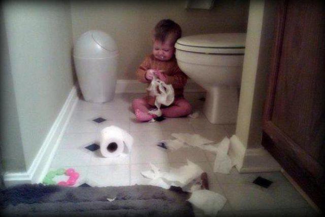 Kids are Destructive Forces of Nature