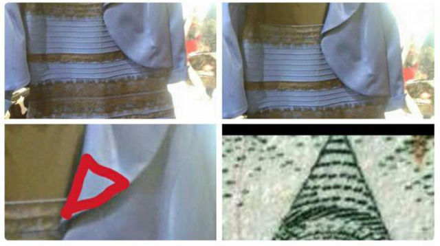 The Internet Tries to Make Sense of What Colour This Dress Actually Is