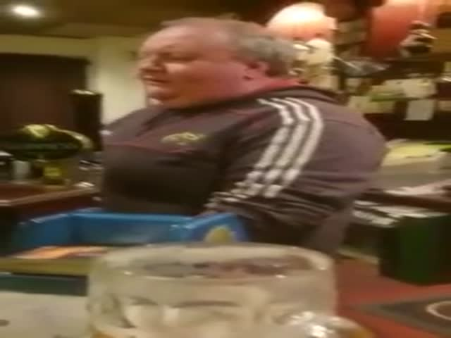The Singing Irish Bartender who Serves Drinks with a Song