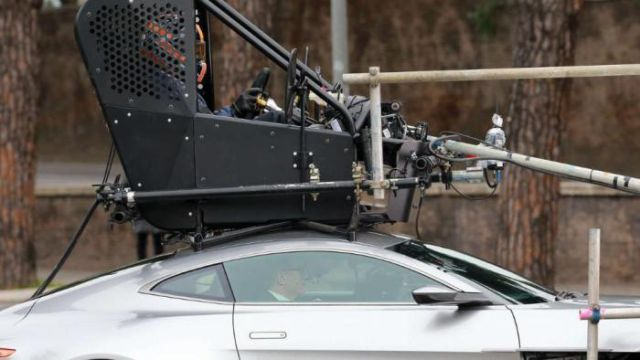 How James Bond's Stunt Car Is Really Driven