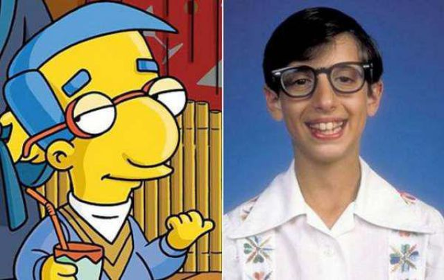 Real Life Doppelgangers of Some of the Simpsons Characters
