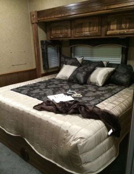 A Few of the NASCAR Drivers Lavish Motor Homes