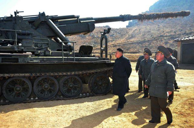 North Korea's Leader in Action