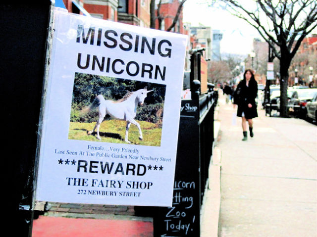 Unicorns Bring a Little Magic to the Internet