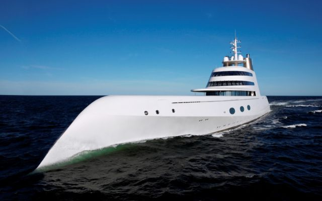 A Russian Billionaire's Astounding Luxury Yacht