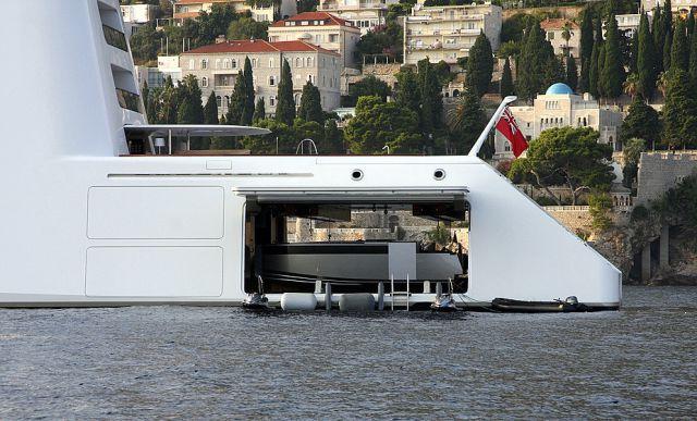 A Russian Billionaire's Astounding Luxury Yacht