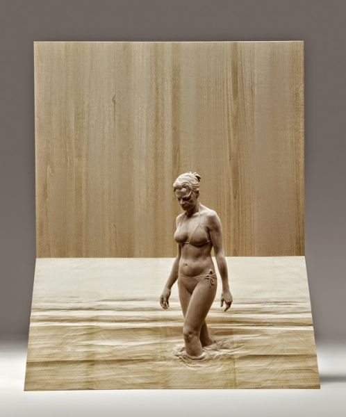 Magnificent Lifelike Wood Sculptures
