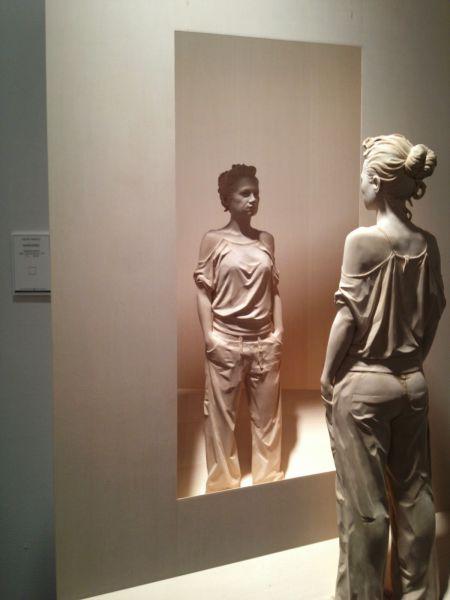 Magnificent Lifelike Wood Sculptures