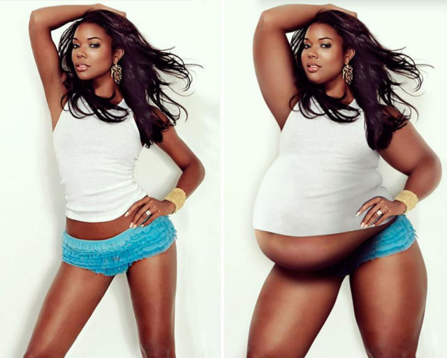 What Your Favorite Celebs would Look Like Fat