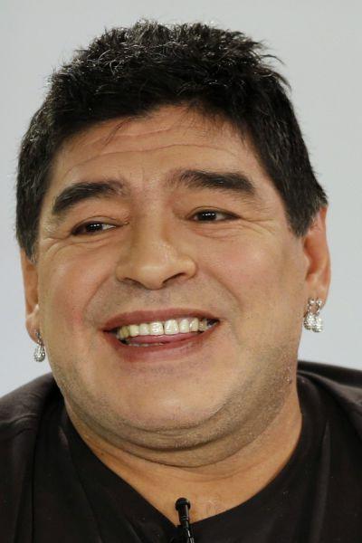Diego Maradona's Odd Fashion Faux Pas
