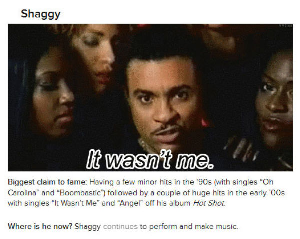 The Most Forgettable Celebs of the 2000s