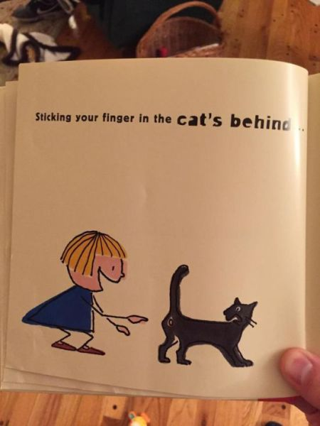 A Few Really Awkward and Uncomfortable Scenarios in Children's Books