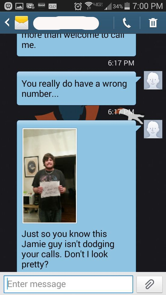 A Wrong Number Text Takes a Turn for the Worse