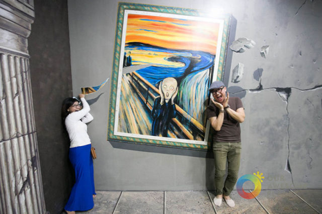 An Interactive 3D Art Museum That Will Blow Your Mind