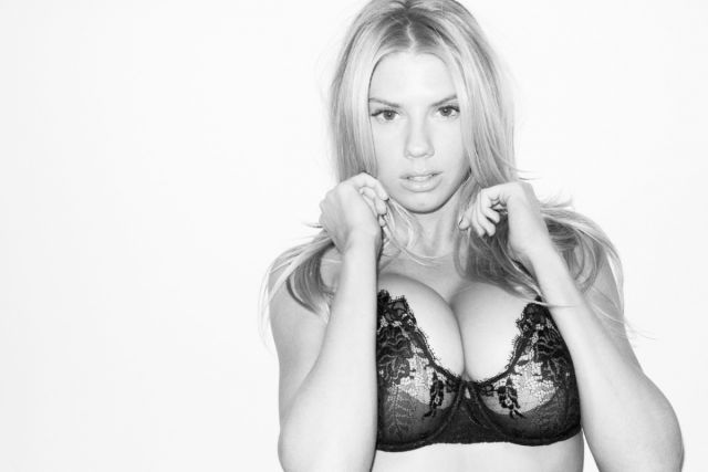 Sexy Lingerie Photos of Charlotte McKinney
