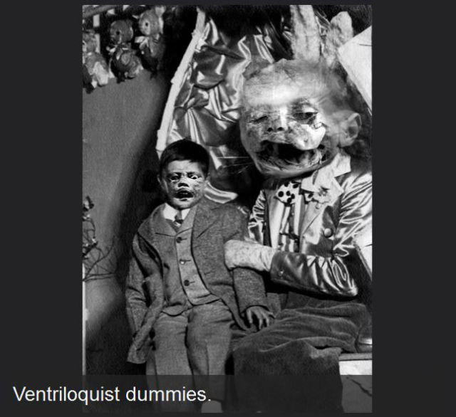 Very Scary Halloween Decorations: Creepy Photos Of A Few Really Scary Things (16 Pics