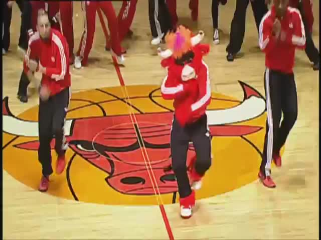 Benny the Bull Is the Clearly the World's Greatest Mascot