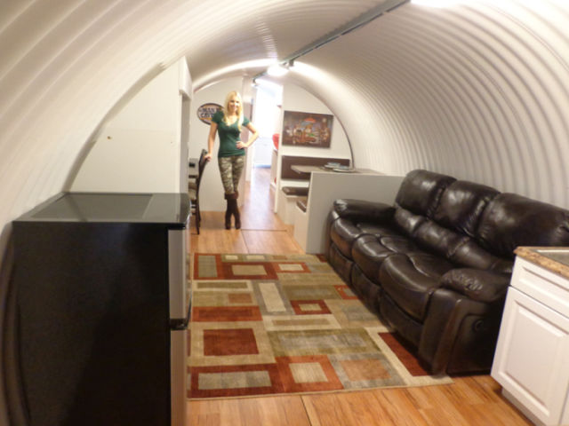 A Millionaire's Version of an Underground Shelter