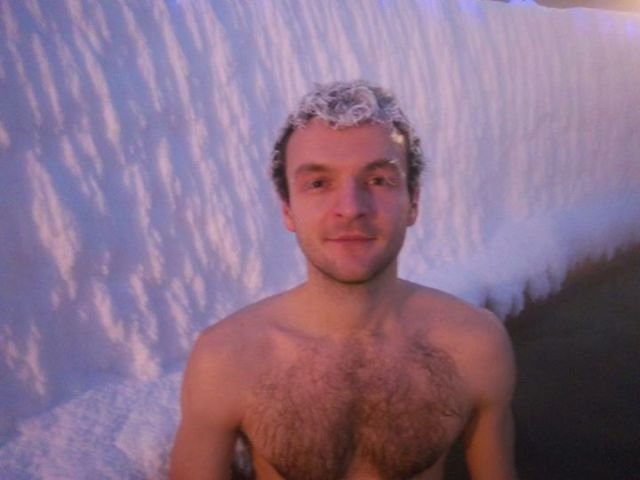 Canadians Let Their Hair Down in the Freezing Cold Climate