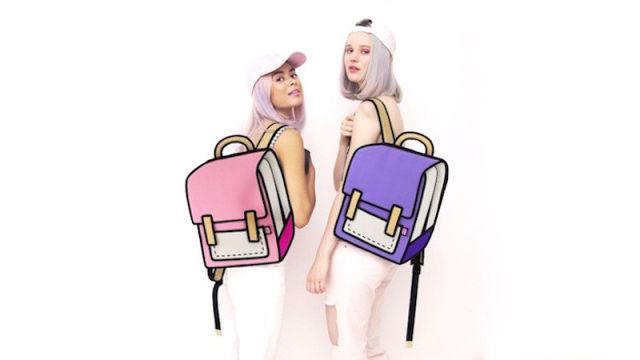 Fashion Bags That Look Like Cartoon Art
