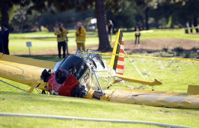 Harrison Ford's Heroic Crash Landing in Santa Monica