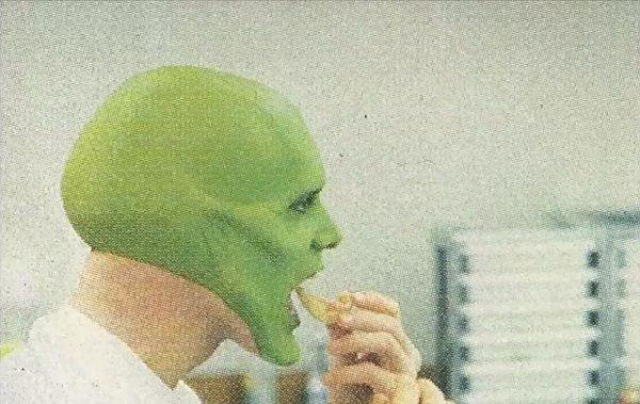 "How Jim Carey was Transformed into ""The Mask"""