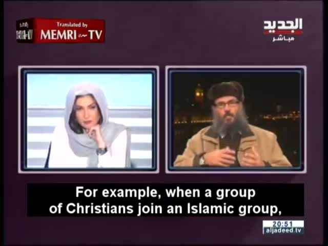 Lebanese TV Host Shuts Down Sexist London-Based Imam Mid-Interview