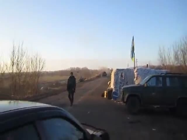 Meanwhile, in the Ukrainian Army...  (VIDEO)