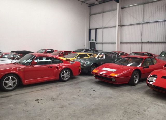 A Man Buys a Garage Full of Expensive Sports Cars