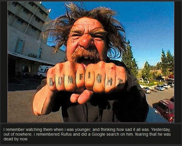 "An Update on a ""Bumfights"" Contestant Today"