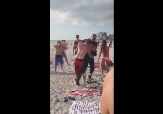 Epic Beach Cop Arrest at Some Florida Spring Break