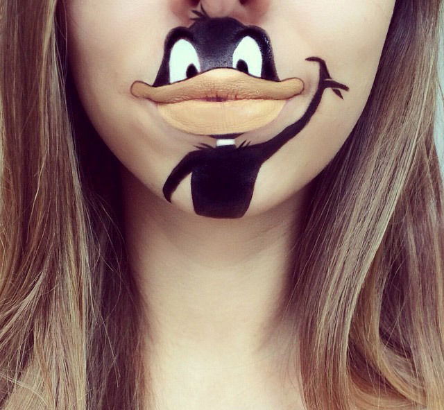 A Makeup Artist's Creative Cartoon Transformations