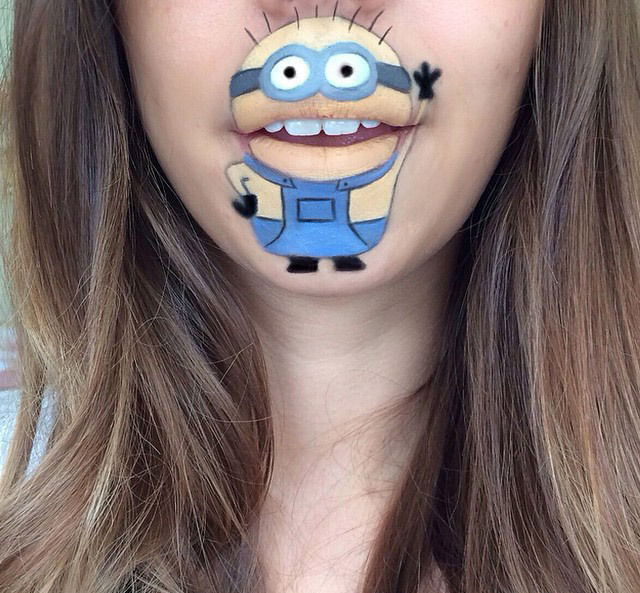 A Makeup Artist's Creative Cartoon Transformations