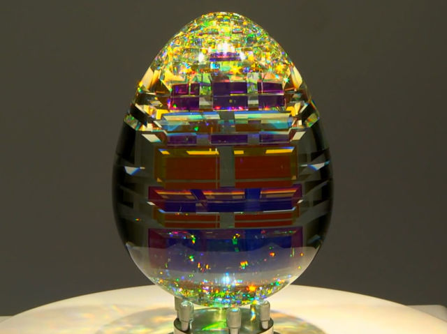 Magical Fibonacci Inspired Glass Sculpture Creations