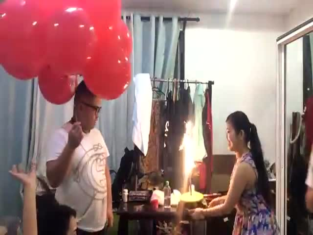 Don't Celebrate Your Birthday with Helium Balloons  (VIDEO)