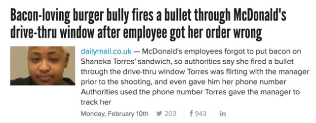 Food Realted News Stories That are Bizarre but True