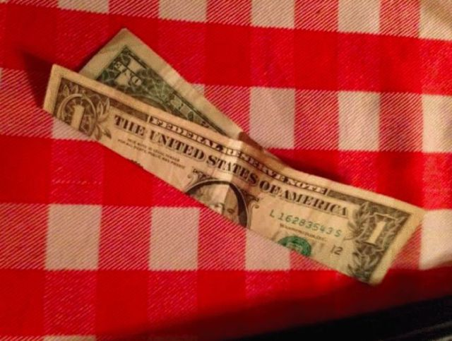 How to Make a Crap Tip Look Generous