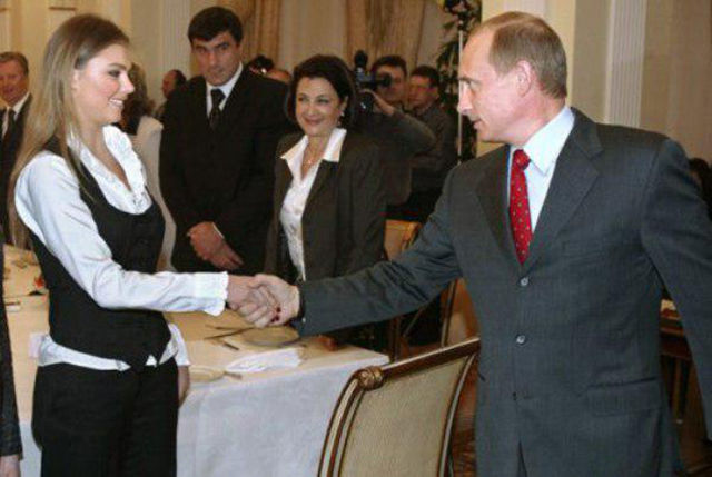 Vladimir Putin's Mistress Is Fit and Flexible
