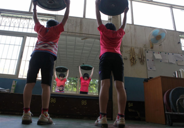 There Is No Rest of Chinese Kids in Training