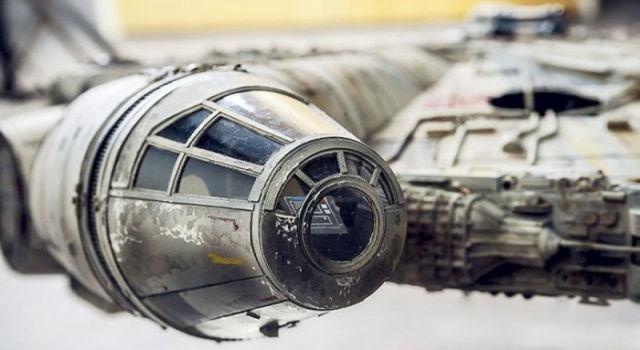 An Impressively Detailed Star Wars Millennium Falcon Replica