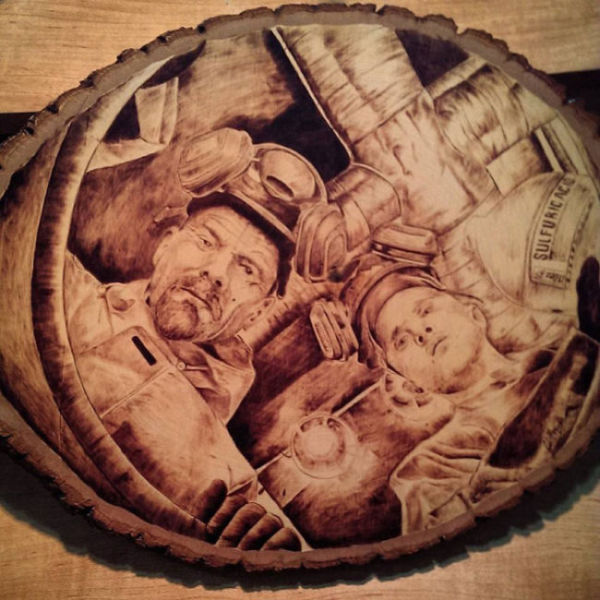 Cool Burned Wood Art That Is One-of-a-kind