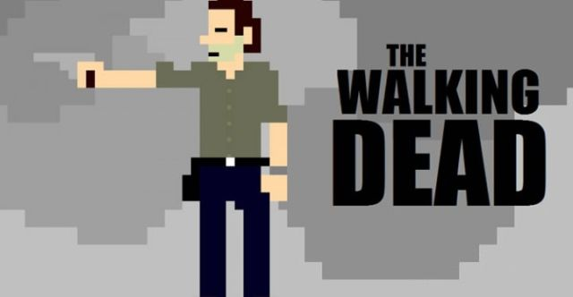 The Walking Dead in 8-Bit Is Still Quite Gory