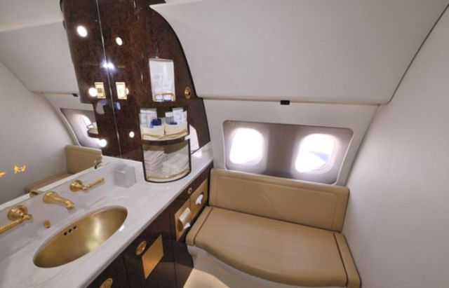 Inside Prince Charles's Luxury Aircraft