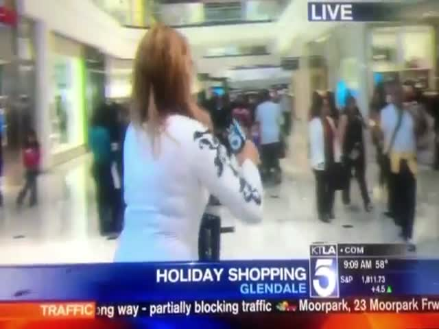 The Ultimate Compilation of News Reporters Falling on Live TV  (VIDEO)