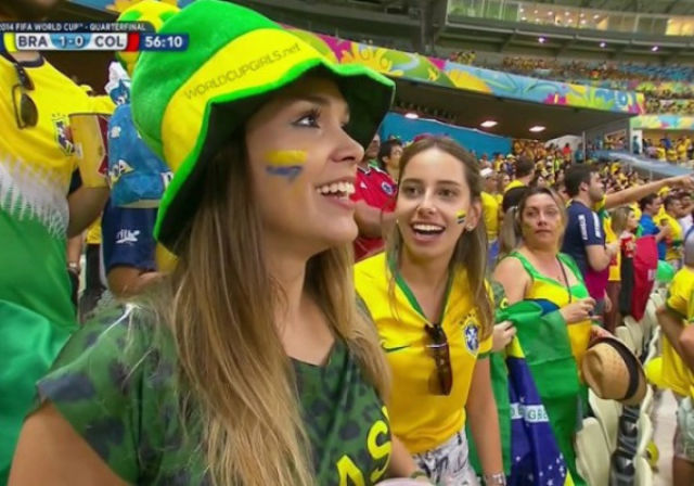 Brazilian World Cup Babes