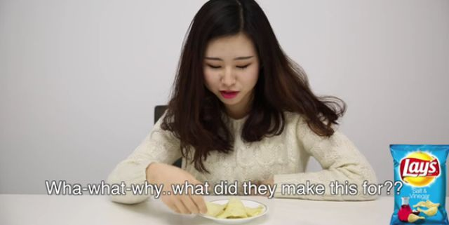 Hilarious Reactions of Korean Girls Tasting American Snacks for the First Time